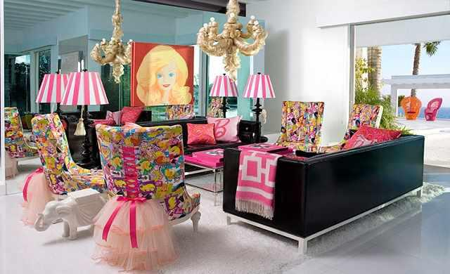 Barbie Malibu Mansion-interior