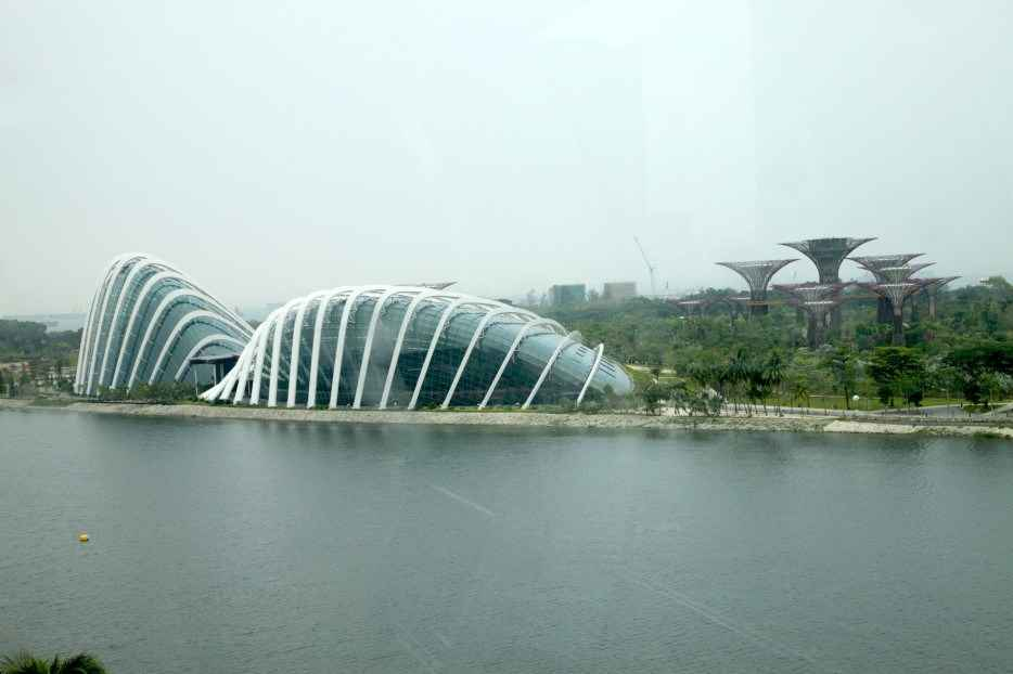 Cloud Forest e Flower Dome - Singapura