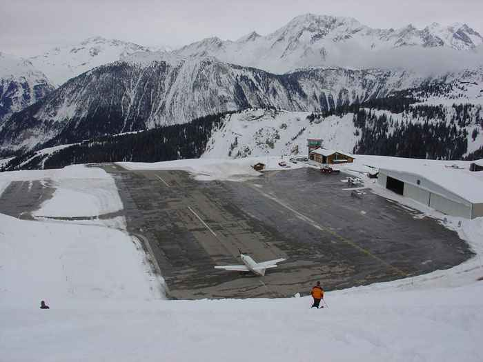 Courchevel-International-Airport-Courchevel-France