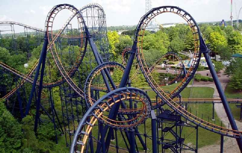 Invertigo, Parque Kings Island, Ohio